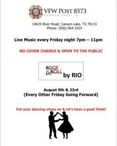 Friday Night Live Music Update